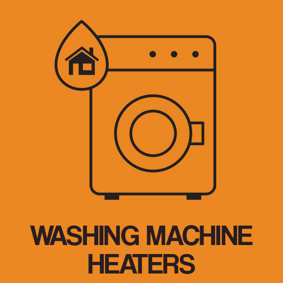 WASHING MACHINE HEATERS