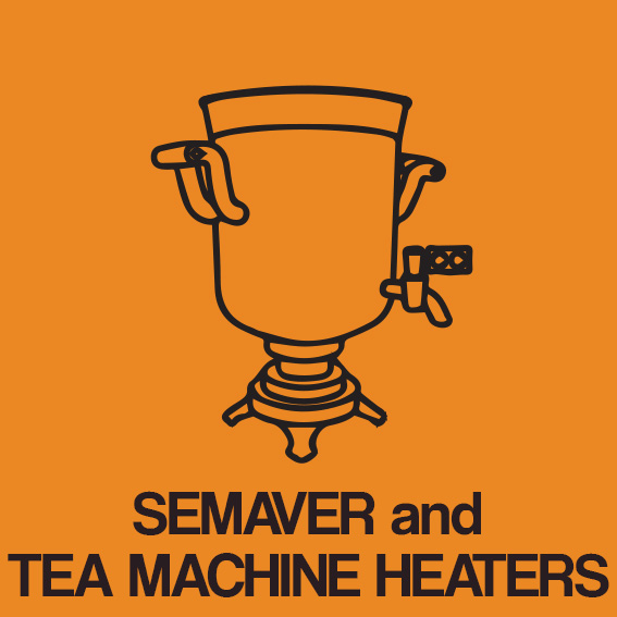 SEMAVER and TEA MACHINE HEATERS