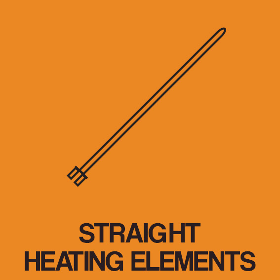 STRAIGHT HEATING ELEMENTS