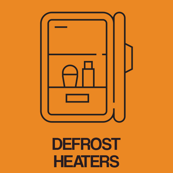 DEFROST HEATERS