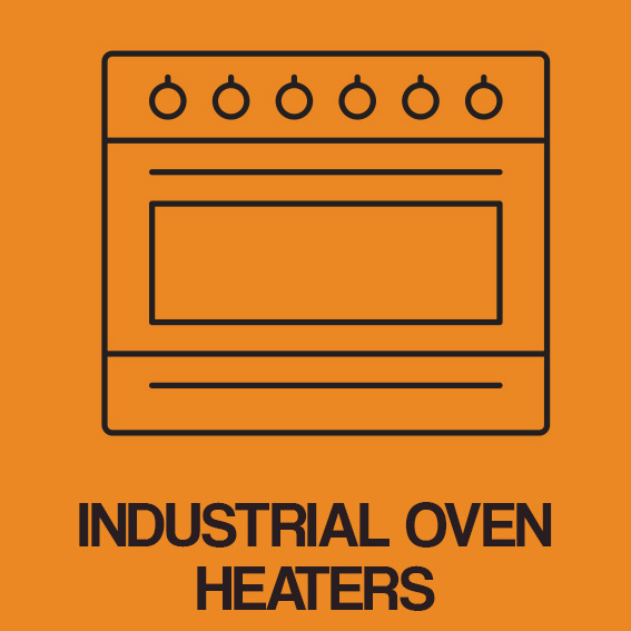 INDUSTRIAL OVEN HEATERS