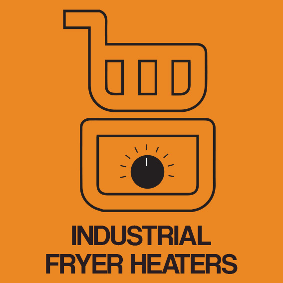 INDUSTRIAL FRYER HEATERS