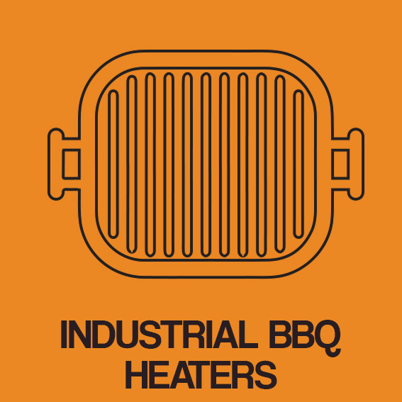 INDUSTRIAL BBQ HEATERS