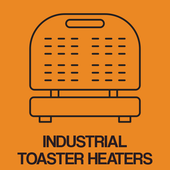 INDUSTRIAL TOASTER HEATERS